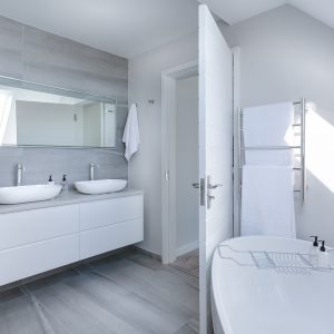 Energie besparen in de badkamer